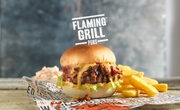 Get 25% Off Challenges on Fridays at Flaming Grill Pubs