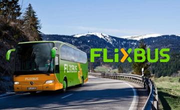 Low Cost Bus Travel from £2.99 at Flixbus
