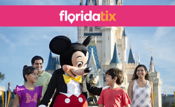 Book Early with Low £20 Deposit at FloridaTix