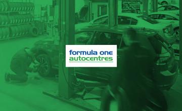 20% Off Servicing   Formula One Autocentres Voucher Code