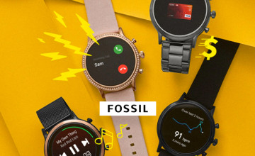 15% Off with Newsletter Sign-ups at Fossil
