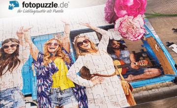 15% Rabattcode 👍 auf alles ab 35 EUR MBW bei fotopuzzle.de