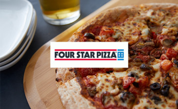 Family Deals from €22 at Four Star Pizza