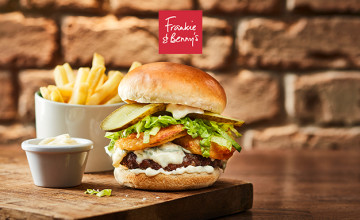 30% Discount on Meals with Cinema Tickets at Frankie & Benny's