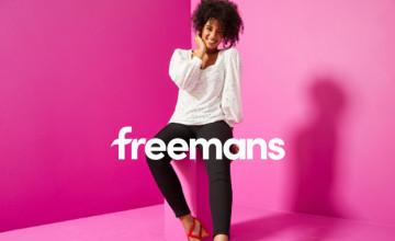 10% Off Orders Over £75 | Freemans Voucher Code
