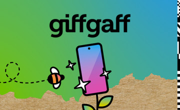 £10 Gift Card with SIM Card Activations at giffgaff