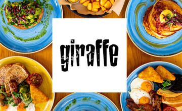 25% Off Orders for Students at Giraffe