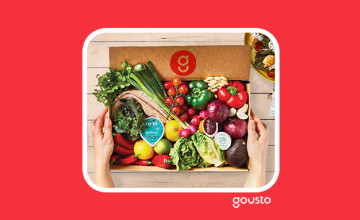 75% Off ⚡ First 2 Orders with this Gousto Promo Code