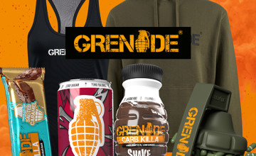 Save 25% On Orders at Grenade