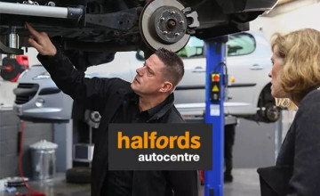 Free Next Day Delivery on Selected items at Halfords Autocentre
