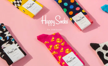 60% Off Selected Orders in the Outlet at Happy Socks