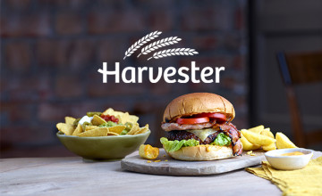 Book Your Table Online Now at Harvester
