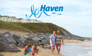 Free £30 Voucher with Upfront Bookings Over £400 at Haven Holidays