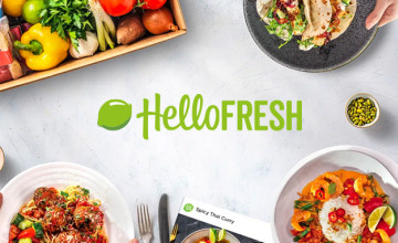 50% Off Box 1 + 35% Off Your Next 3 at HelloFresh