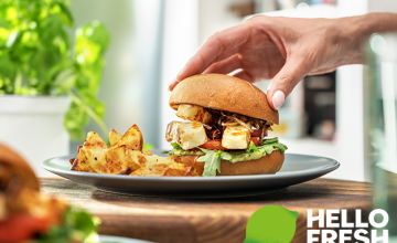 Over 40% Off Your 1st Box, 10% Off Every Box After with our HelloFresh Voucher