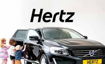 Free £10 Voucher with Bookings Over £120 at Hertz Car Hire