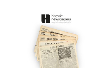 Enjoy 10% Off Your First Purchase with a Subscription at Historic Newspapers