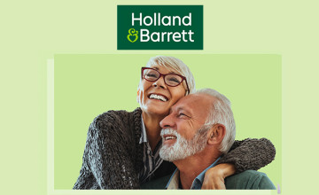 £5 Gift Card with Orders Over £40 at Holland & Barrett