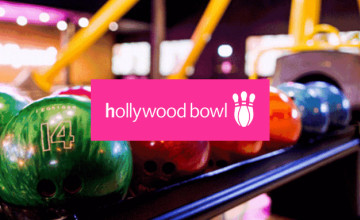 50% Off Selected Bookings at Hollywood Bowl with our Discount Code