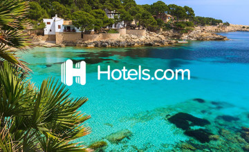 £15 Gift Card with Bookings Over £200 at Hotels.com