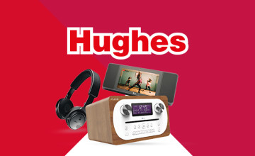 £40 Off Purchases Over £800 at Hughes