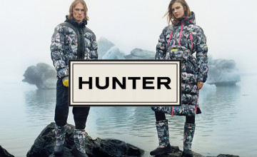 Free £5 Voucher with Orders Over £100 at Hunter