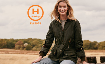 10% Off First Orders with Newsletter Sign-ups at Hurley