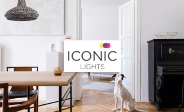 20% Off Orders Over £120 at Iconic Lights