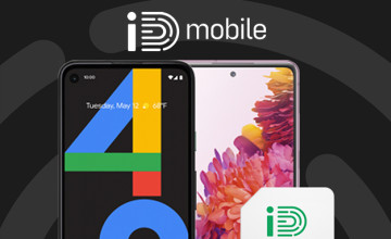 £10 Off Upfront Charge on Monthly Contract Orders with this iD Mobile Promo Code