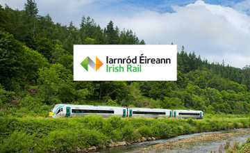 Up to 24% Off Bookings with Leap Card at Irish Rail