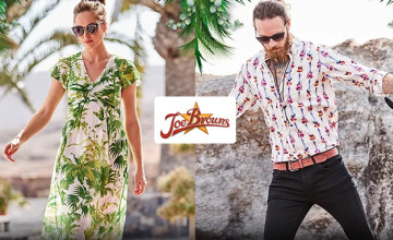 Free £5 Voucher with Orders Over £100 at Joe Browns