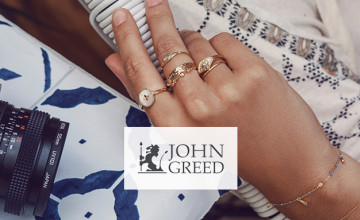 20% Off John Greed Branded Jewellery Orders at John Greed Jewellery