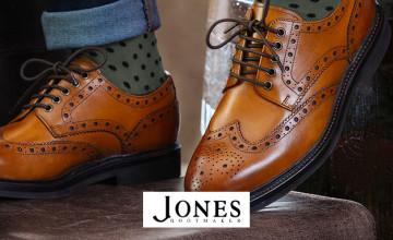 Extra 20% Off Sale Orders at Jones Bootmaker