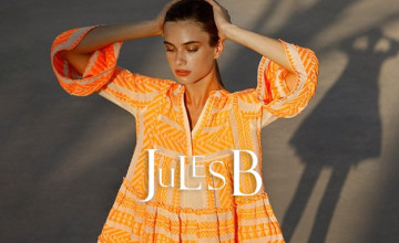 15% Off Orders with Newsletter Sign Ups at Jules B