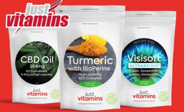 £5 Gift Card with Orders Over £20 at Just vitamins