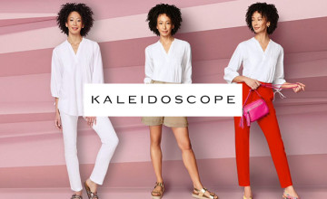 £5 Gift Card with Orders Over £100 at Kaleidoscope