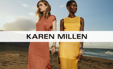 Extra 15% Discount Code Plus Free Standard Delivery on Orders at Karen Millen