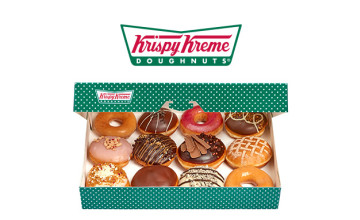 Personalised Doughnuts from £11.20 at Krispy Kreme