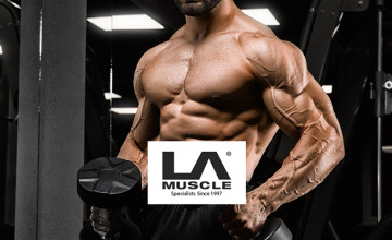 22% Off Your First Order with VIP Club Subscription at LA Muscle