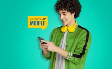 -50% supplémentaires pendant 6 mois sur les forfaits supplémentaires à La Poste Mobile