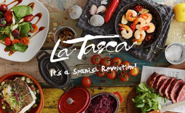 2 for 1 on Cocktails and Coolers at La Tasca