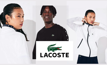 £5 Gift Card with Orders Over £80 at Lacoste