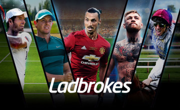 Bet £5 and Get £20 in Free Bets for New Customers at Ladbrokes