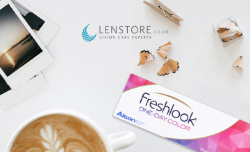£5 Gift Card with Orders Over £60 at Lenstore Contact Lenses