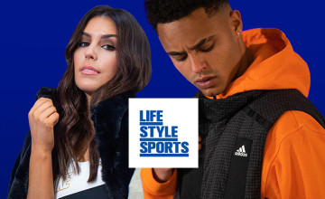 5% Off Orders Over €50 Plus up to 50% Off in the Clearance at Life Style Sports