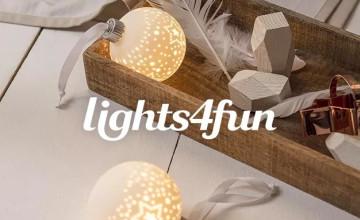10% Off Orders | Lights4Fun Discount Code 💡