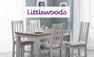 Up to 50% Off Selected Homeware Orders at Littlewoods