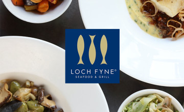 Receive Special Offers When You Join the Mailing List at Loch Fyne Seafood and Grill