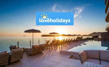 Free £65 Voucher with Upfront Bookings Over £1300 at loveholidays.com