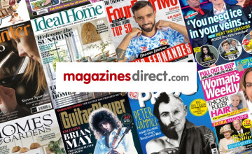 Get an Extra 10% on Selected Magazines with this Discount Code